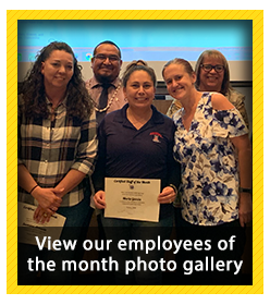 Employees of the Month for October 2019