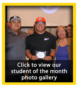 Student of the Month Photo Gallery - December 2018