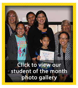 Student of the Month Photo Gallery