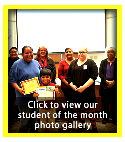 Student of the Month Photo Gallery - January 2018