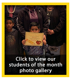 Student of the Month Photo Gallery - February 2019