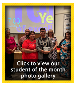 Student of the Month Photo Gallery - March 2019