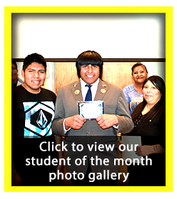 Student of the Month Photo Gallery - April 2018
