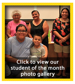 Student of the Month Photo Gallery - August 2018
