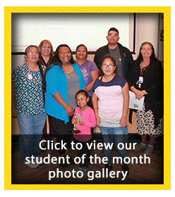Student of the Month Photo Gallery - October 2018