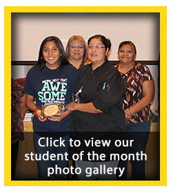Student of the Month Photo Gallery - November 2018
