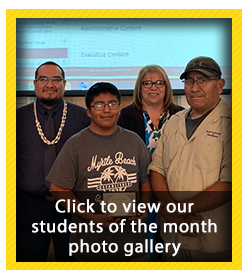Student of the Month Photo Gallery - April 2019