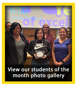 Student of the Month Photo Gallery - September 2019
