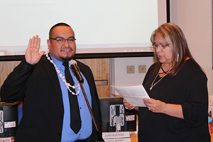 Juan Buendia is the newest members of our school board