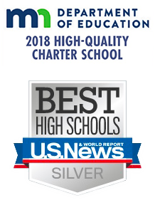 MDE 2018 High Quality Charter School - Best High Schools U.S. News - Silver