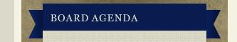Board Agendas
