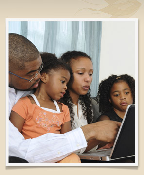 Family learning on the computer