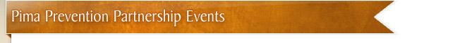 Pima Prevention Partnership Events