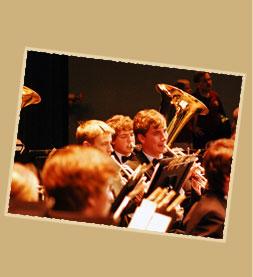 Concert Band upclose tuba