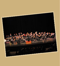 Concert Band group