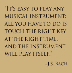 Quote by J.S. Bach