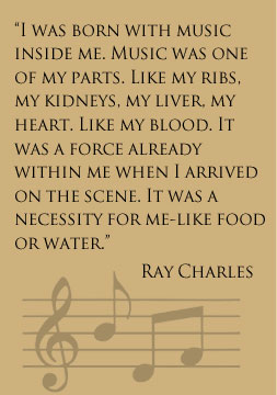 Quote by Ray Charles