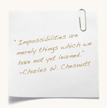 Quote by Charles W Chestnutt