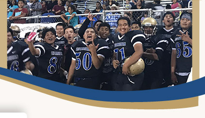 Baboquivari High School and Middle School football team