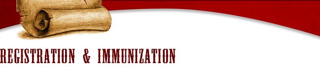 Registration and immunization