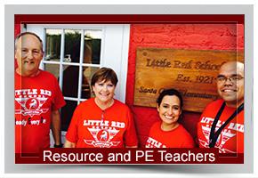 Resource and PE Teachers
