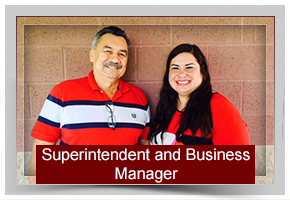 Superintendent and Business Manager