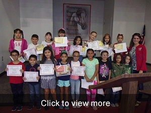 1st Quarter Honor Roll Assembly Photos