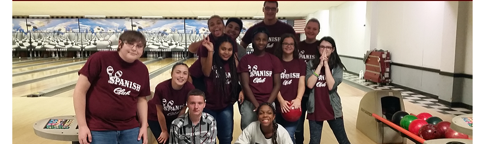 Group of Students bowling