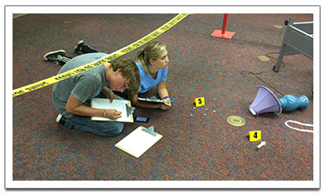 Students Solving Crimes