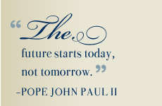 Quote by Pope John Paul II