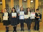 5 students earned 11 awards