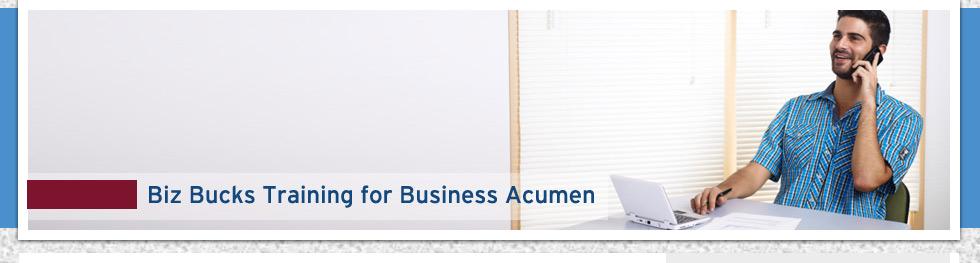 Business Acumen Training