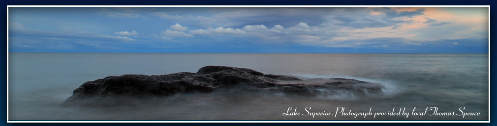 Lake Superior, Photograph provided by local Thomas Spence