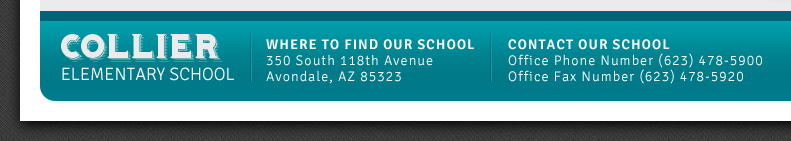 Collier Elementary School | 350 South 118th Ave | Avondale, AZ 85323