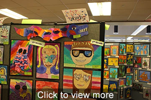 view more photos of student artwork