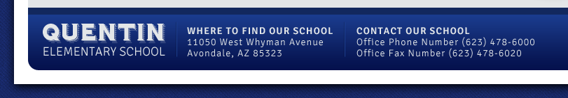 Quentin Elementary School | 11050 West Whyman Ave, Avondale, AZ 85323