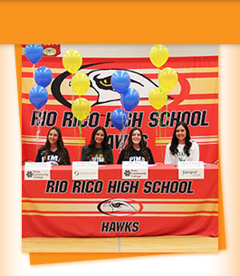 Rio Rico High School booth