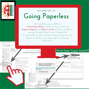 SCVUSD No. 35 is Going Paperless