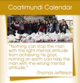 Coatimundai Calendar / Thomas Jefferson quote