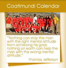 Coatimundai Calendar / Thomas Jefferson quote