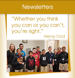 Newsletters / Henry Ford quote