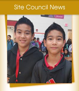 Site Council News