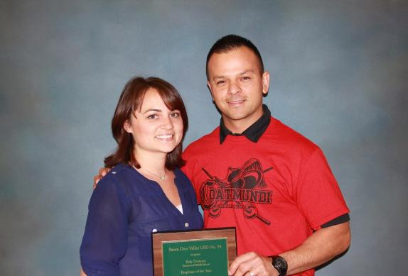 Employee of the Year Kela Gortarez