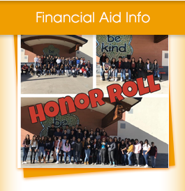 Financial Aid Info, Honor Roll