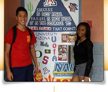 Rio Rico HS Students