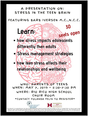 A Presentation on: Stress in the Teen Brain