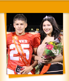 Jr. Homecoming Royalty