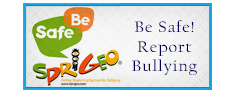 Be Safe, Report Bullying