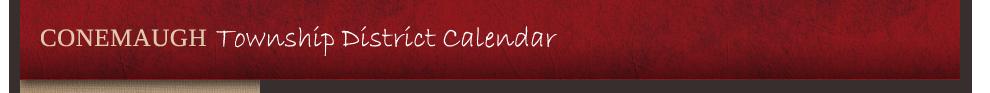 CT District Calendar