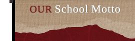 School Motto